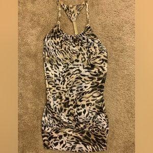 🎈2 for $15 / Cheetah print mini dress size Small
